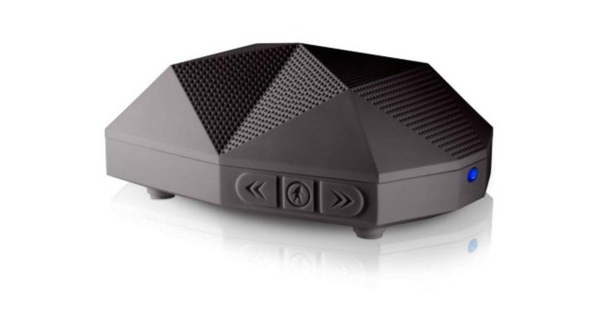 Outdoor tech turtle shell 2 0 bluetooth lautsprecher for Beistelltisch usb