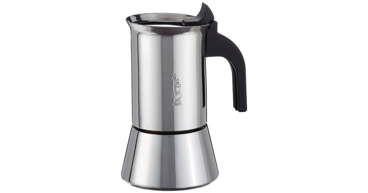 bialetti venus 4 tassen espressokocher induktion edelstahl f r genie er kaffee und tee. Black Bedroom Furniture Sets. Home Design Ideas