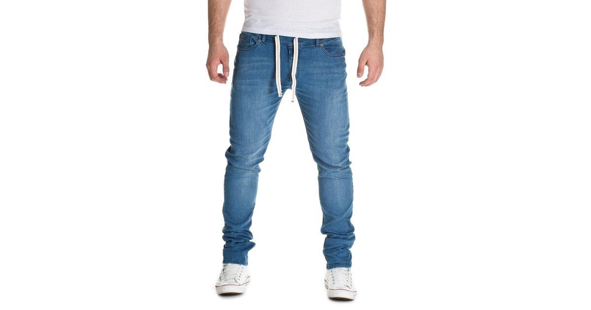 yazubi herren sweathose in jeansoptik rick jogginghose in jeans look. Black Bedroom Furniture Sets. Home Design Ideas